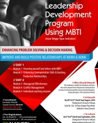 Leadership Development Program Using MBTI