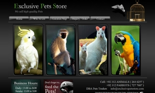 Exclusive Pets Store